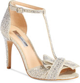 INC International Concepts Risha Embellished Knot Detail Evening Sandals, Only at Macy's