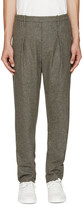 Lemaire Grey Wool Trousers