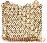 Paco Rabanne Iconic 1969 Chain Shoulder Bag - Womens - Gold