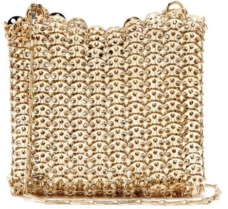 Paco Rabanne Iconic 1969 Chain Shoulder Bag - Gold