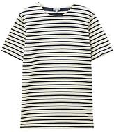 Jigsaw Two Scale Stripe T-shirt, Navy
