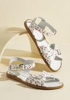 Salt Water Sandals Spritz of Salt Water Leather Sandal in Cherry in 6 UK