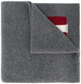Bally - écharpe à plaque logo