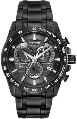 Citizen Men's Eco-Drive Atomic Calendar Steel Watch, 42mm