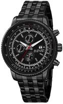 August Steiner Men&s Multifunction Bracelet Watch