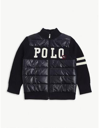 Ralph Lauren Padded woven bomber jacket 2-14 years