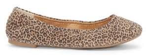 Lucky Brand Emmie Leopard-Printed Ballet Flats