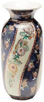 """One Kings Lane 6"""" Chinoiserie Vase - Blue/Cream"""
