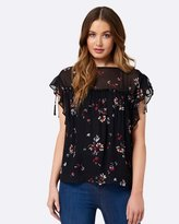 Forever New Dani Frill Detail Top