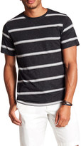 Burnside Short Sleeve Striped Knit Tee