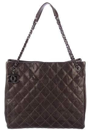 Chanel Large Chic Caviar Shopping Tote