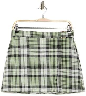 Abound Plaid Skirt