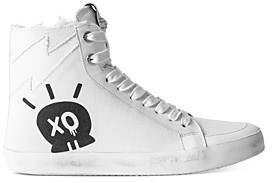 Zadig & Voltaire Women's Jormi Amour Distressed High Top Sneakers