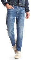 Gap STRETCH 1969 slim fit ankle wader jeans