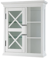 """Elegant Home Fashions Toulouse 20"""" W x 24"""" H Wall Mounted Cabinet"""