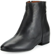 Aquatalia by Marvin K Uri Leather Ankle Boot, Black