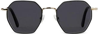 Finlay & Co. Stanley - Black And Gold- Grey Lenses