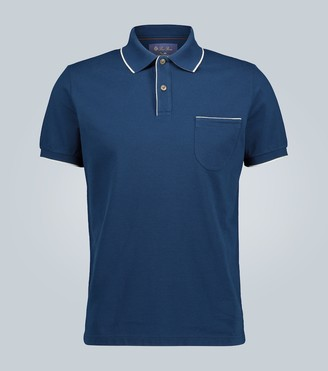 Loro Piana Short-sleeved cotton polo shirt