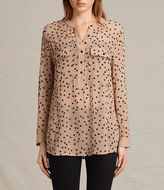 AllSaints Picolina Embroidered Shirt