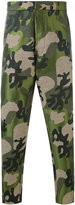 Tom Rebl camouflage printed trousers - men - Cotton/Acrylic/Polyester/Spandex/Elastane - 52