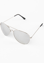 Missy Empire Lenore Silver Framed Sunglasses