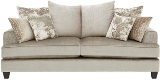 Luxe Collection Opal 3-Seater Fabric Sofa