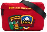 DSQUARED2 Camp patch shoulder bag