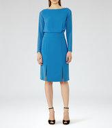 Reiss Alessa Sheer-Sleeve Dress