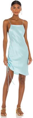 Dannijo Mini Side Ruched Slip Dress