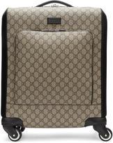 Gucci Beige Gg Supreme Suitcase