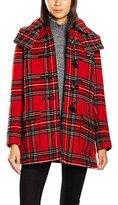 Gloverall Women's Tartan A Line Freda Coat,(Manufacturer Size:Medium)