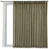 Royal Velvet Supreme Pinch-Pleat/Back-Tab Lined Patio Door Panel