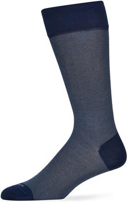 Marcoliani Milano Men's Birdseye Cotton Socks