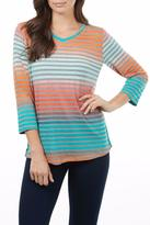 FDJ French Dressing Rainbow Stripe Tee