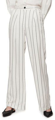 Anine Bing Ryan Stripe Trousers
