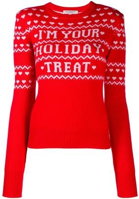 Philosophy di Lorenzo Serafini Holiday Treat intarsia jumper