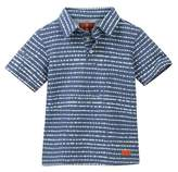 7 For All Mankind Printed Polo Shirt (Little Boys)
