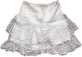 Isabel Marant White Silk Skirts