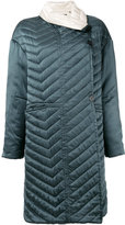 Isabel Marant quilted coat - women - Silk/Cotton/Polyester - 34