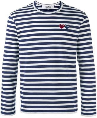 Comme des Garcons Breton stripe T-shirt