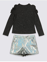Marks and Spencer 2 Piece Top & Shorts Outfit (3-14 Years)