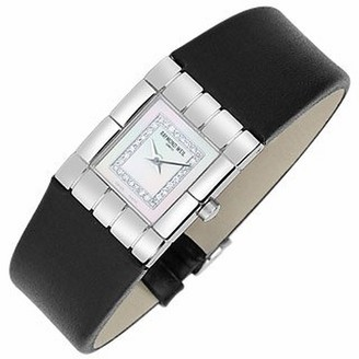 Raymond Weil Tema - Ladies' Diamond River Leather Band Watch