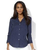 Lauren Ralph Lauren Three-Quarter-Sleeve Shirt