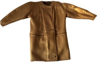 Non Signã© / Unsigned Gold Shearling Coats