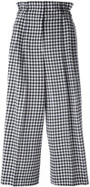 Sonia Rykiel checked loose-fit trousers