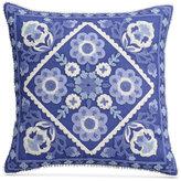 "Cupcakes And Cashmere Blue Frame 16"" Square Decorative Pillow"