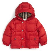 Burberry Barnie Down Puffer Coat (Baby Boys)