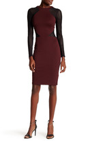 French Connection Long Sleeve Vivien Bodycon Dress