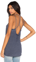 Chaser Double Twisted Strap Draped Cami