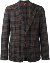 Barena checked blazer - men - Cotton/Linen/Flax - 50